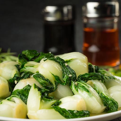 Stir-Fried Baby Bok Choy with Garlic