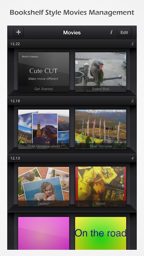 Cute CUT - Video Editor & Movie Maker- screenshot