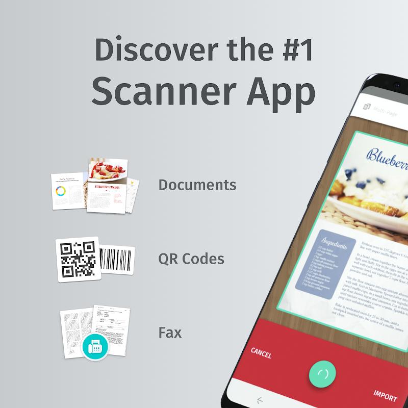 Scanbot - PDF Document Scanner Screenshot
