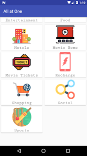All at One: An all in one Shopping app - náhled