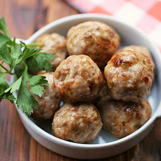 Pork Meatballs.