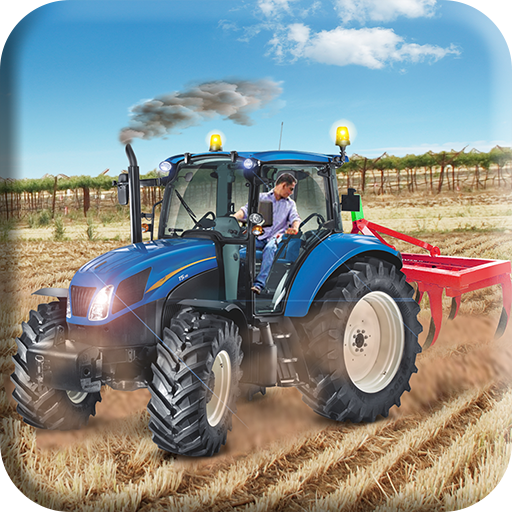 Heavy Tractor Land Farming : Real Tractor Cargo
