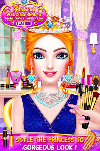 Princess Wedding Magic Makeup Salon Diary Part 1 screenshot 9