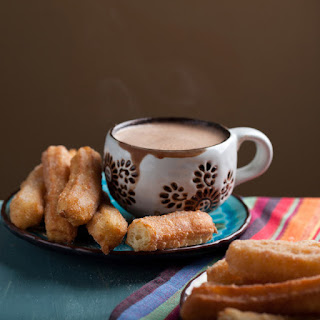 XOCO Churros with Mexican Hot Chocolate