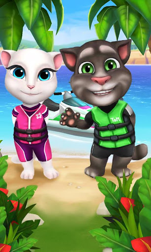 Talking Tom Jetski screenshot 5