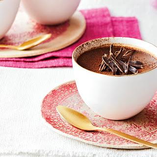 Dark Chocolate Pots de Crème.