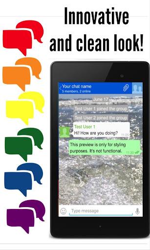 Messenger App screenshot 4
