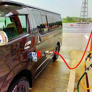 ハイエースバン TRH200Vのカスタム事例画像 🎌山田極惡文具店🎌さんの2020年07月06日11:51の投稿