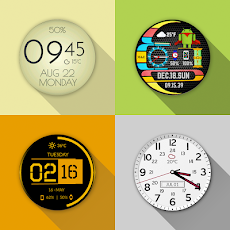 Watch Face - Minimal & Elegant for Android Wear OSのおすすめ画像3