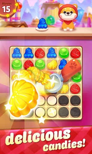 Candy Bomb Fever - 2020 Match 3 Puzzle Free Game apktram screenshots 6