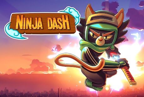 ApkMod1.Com Ninja Dash Shinobi Warrior Run Jump & Slash + (Mod Money) for Android Arcade Game