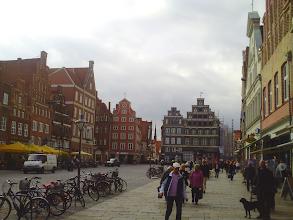 Photo: Eine Art Prinzipalmarkt wie zu Münster in Westfalen. Foto vom 7. Oktober 2010.