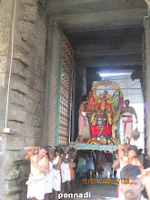Photo: garuda vAhana sEvai - perumAL leaving the temple for thIrthavAri
