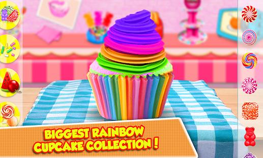 Tải Game Tự làm cầu vồng Cupcake Maker