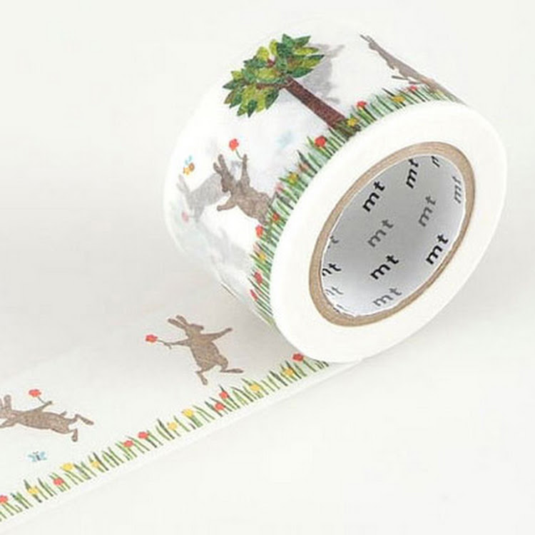 MT Rabbit & Squirrel by MT masking tape by Pipit Zakka Store