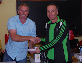 Photo: Ben English, Dundrum A.C. who won the O/50 Men's prize