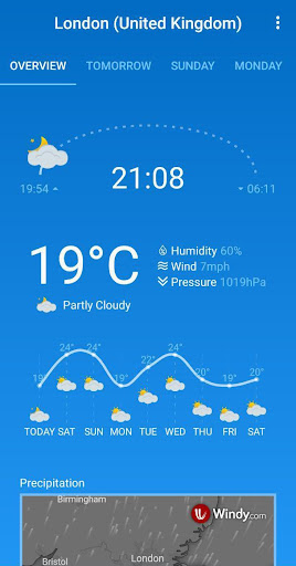 Weather Forecast (free & no ads) 1.33 screenshots 2