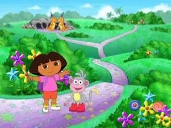 Dora hilft dem Geburtstags-Wizzle