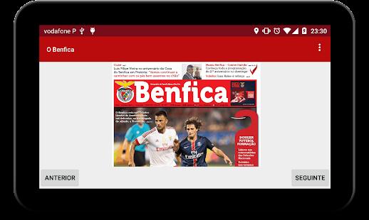newsBenfica- screenshot thumbnail