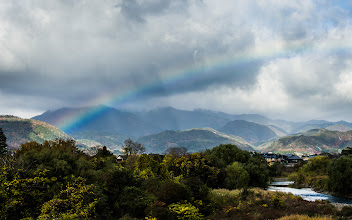 """Photo: This photo appeared in an article on my blog on Jan 19, 2013. この写真は1月19日ブログの記事に載りました。 """"Revisiting December's Arashiyama Outing: Dynamic Vistas and the Suzumushidera Temple"""" http://regex.info/blog/2013-01-19/2188"""
