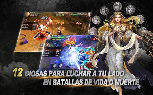 Goddess: Primal Chaos - MMORPG de acciu00f3n 3D apkmr screenshots 6