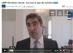 Photo: 12/05/11...Christian Jacob, Député de Seine-et-Marne et Président du Groupe UMP à l'Assemblée nationale. http://www.dailymotion.com/video/xio7sr_ump-christian-jacob-loi-sur-le-gaz-de-schiste_news