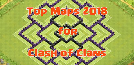 Maps of Clash of Clans 2018 for PC