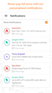 Compare Prices Coupons & Deals - screenshot thumbnail