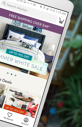 Wayfair - Shop Everything Home Screenshot