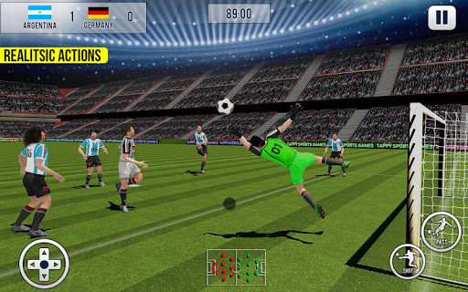 Soccer League Stars 2k18: World Championship 2 Pro  screenshots 1