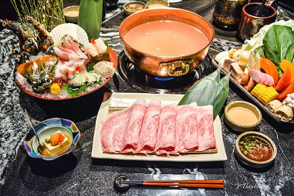 台北頂級火鍋 文華精品但馬家涮涮鍋二館-肥美日本和牛,鮮甜龍蝦與好吃雜炊