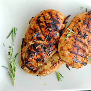 Grilled Rosemary and Balsamic Chicken.