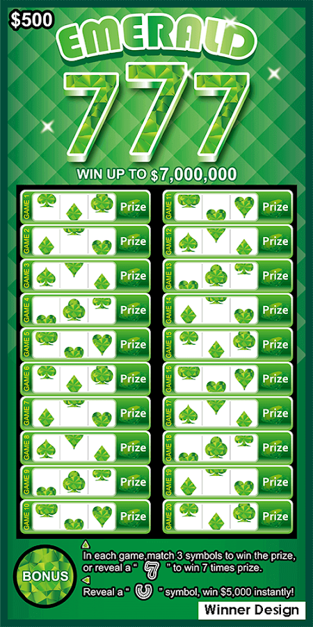 Lotto Scratch – Las Vegas- screenshot