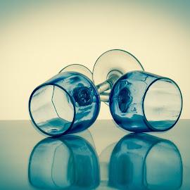 Glass by Patrizia Sapia - Artistic Objects Glass ( bicchieri, vetro )