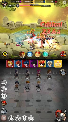 Idle Fantasy Merge RPG screenshot 23