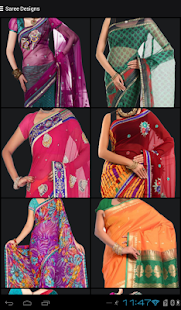 Latest Fashion & Saree Designs- screenshot thumbnail