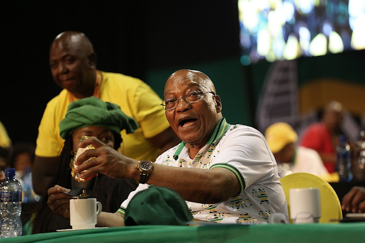 Jacob Zuma. Picture: ALON SKUY​