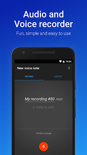 Easy Voice Recorder 2.5.8 gameplay | AndroidFC 1