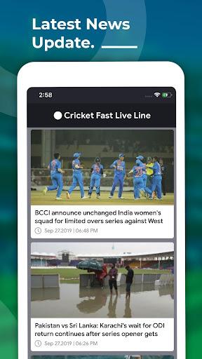 Cricket Fast Live Line screenshots 4