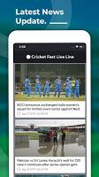 screenshot of Cricket Fast Live Line