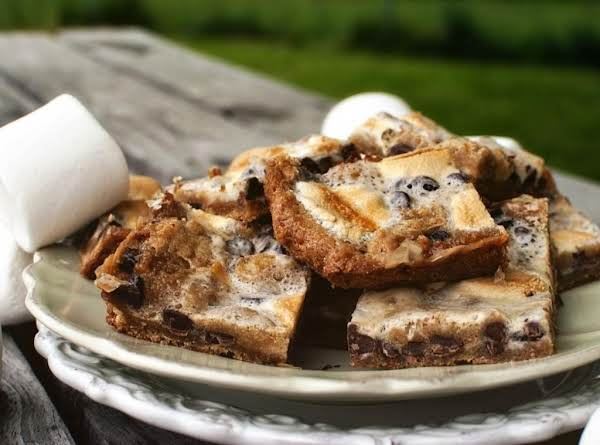S'more Cookie Bars Recipe