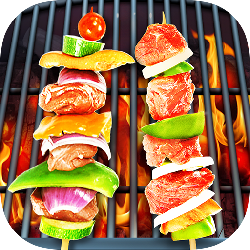 BBQ Kitchen Grill Cooking Game
