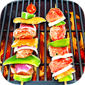 BBQ Kitchen Grill Cooking Game icon