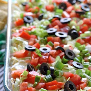 8 Layer Taco Dip.