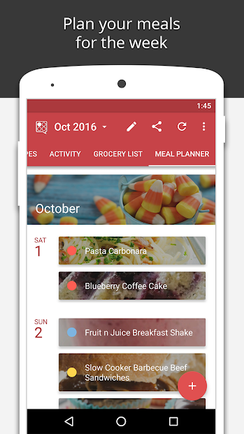 BigOven Recipes, Meal Planner, Grocery List & More screenshot 4