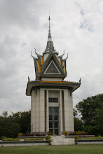 Photo: Year 2 Day 35 - The Memorial Stupa, Containing Thousands of Skulls