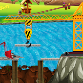 Bridge Builder & Repair Game