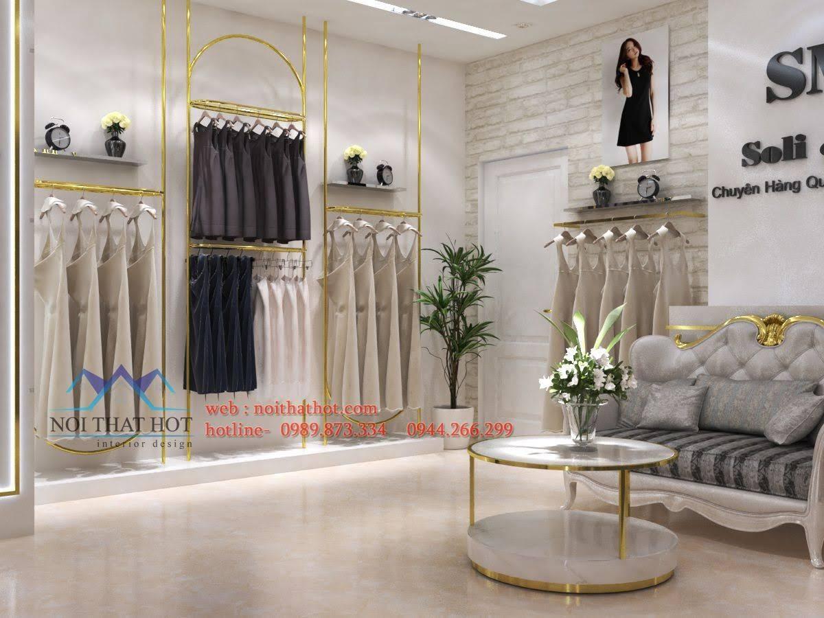 thiết kế shop thời trang sm 5