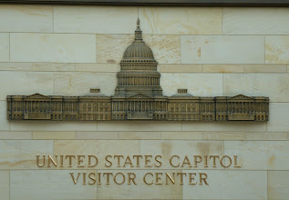 Photo: Visitor Center of the Capitol of the United Staates.