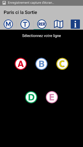 Paris ci la Sortie du Métro app for Android screenshot